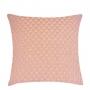 Capa de Almofada de Tricot Esteira Cotton 50x50 Rosa Claro