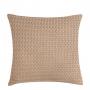 Capa de Almofada de Tricot Palha Cotton 50x50 Perolado