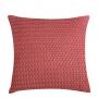 Capa de Almofada de Tricot Palha Cotton 50x50 Rosa Oriente