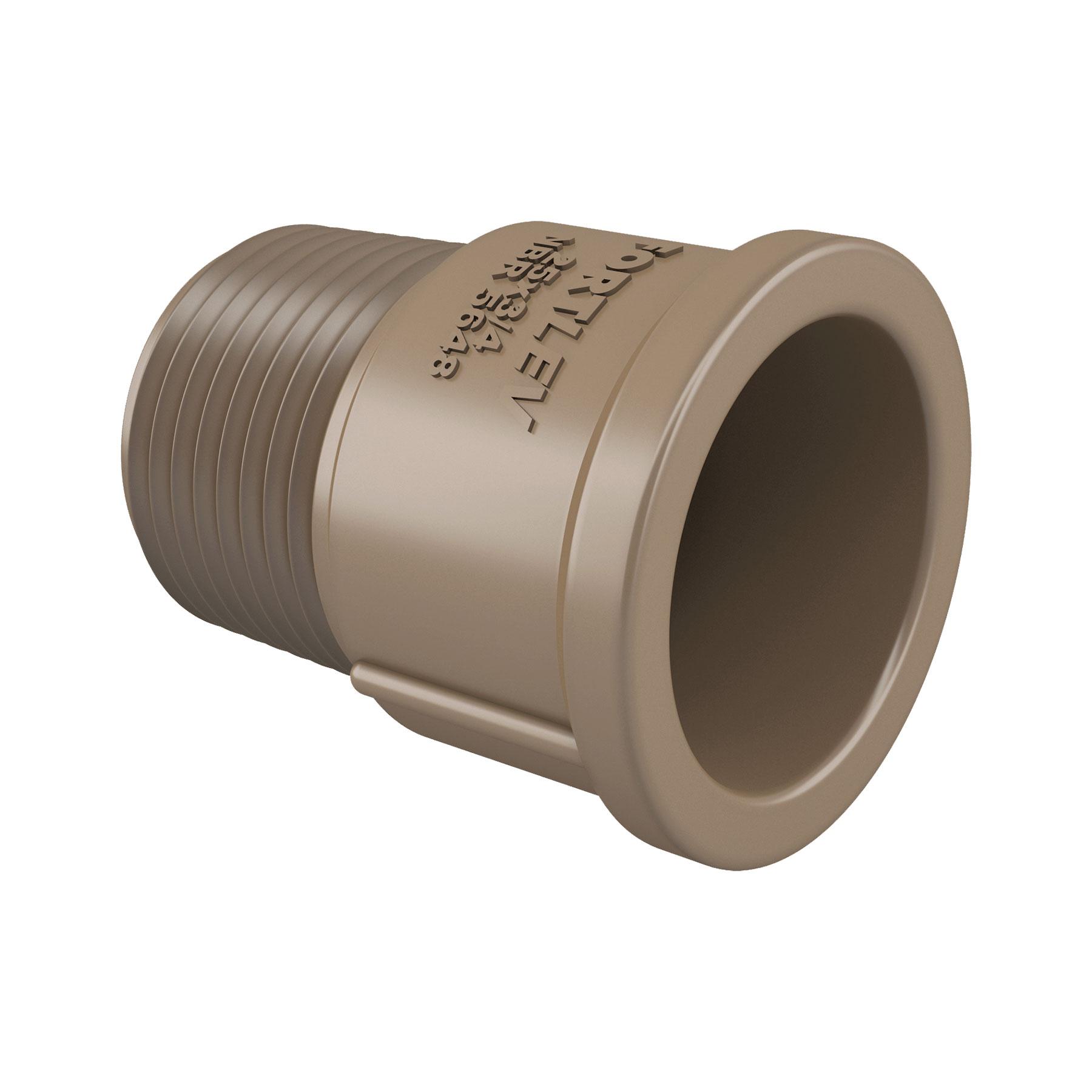 Adaptador Soldável Curto 50mm x 1.1/2