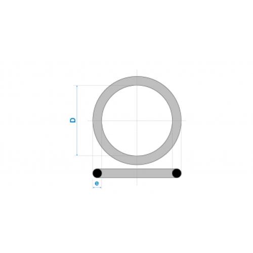Anel de Vedação para Esgoto 200mm - Preto