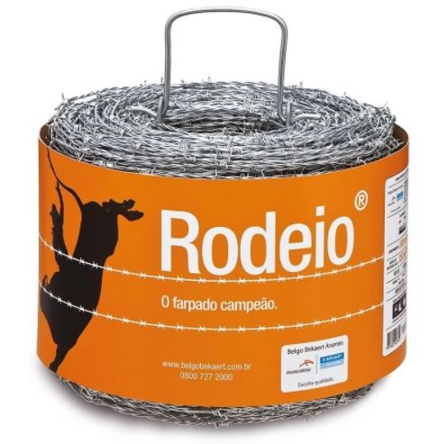 Arame Farpado Belgo Rodeio 250m