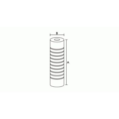 Elemento Filtrante para Filtro de Entrada - Branco