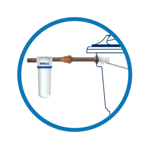Filtro para Caixa d'Água 25 Micras
