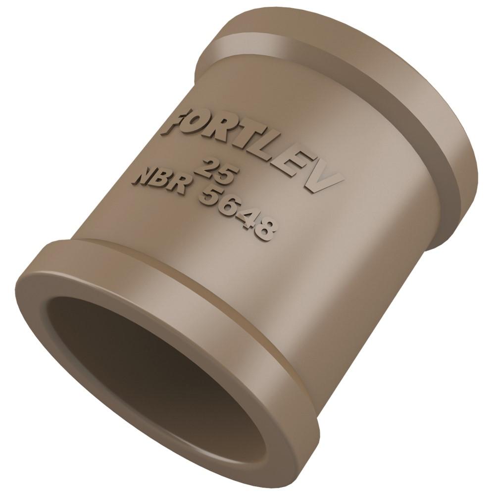 Luva Soldável 25mm - Marrom