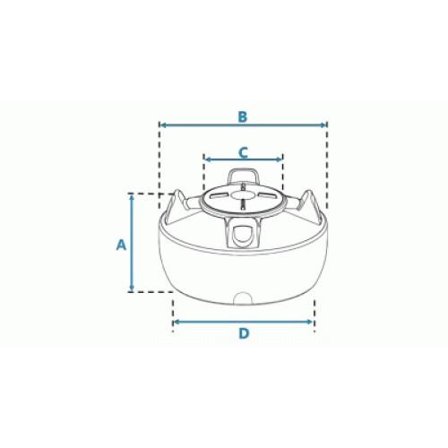 Tanque de Polietileno 500L