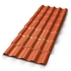 Telha PVC Colonial 3,94x0,86m Terracota