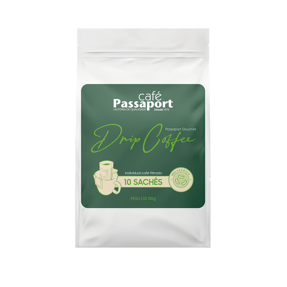 Café Passaport Gourmet Drip Coffee 100gr