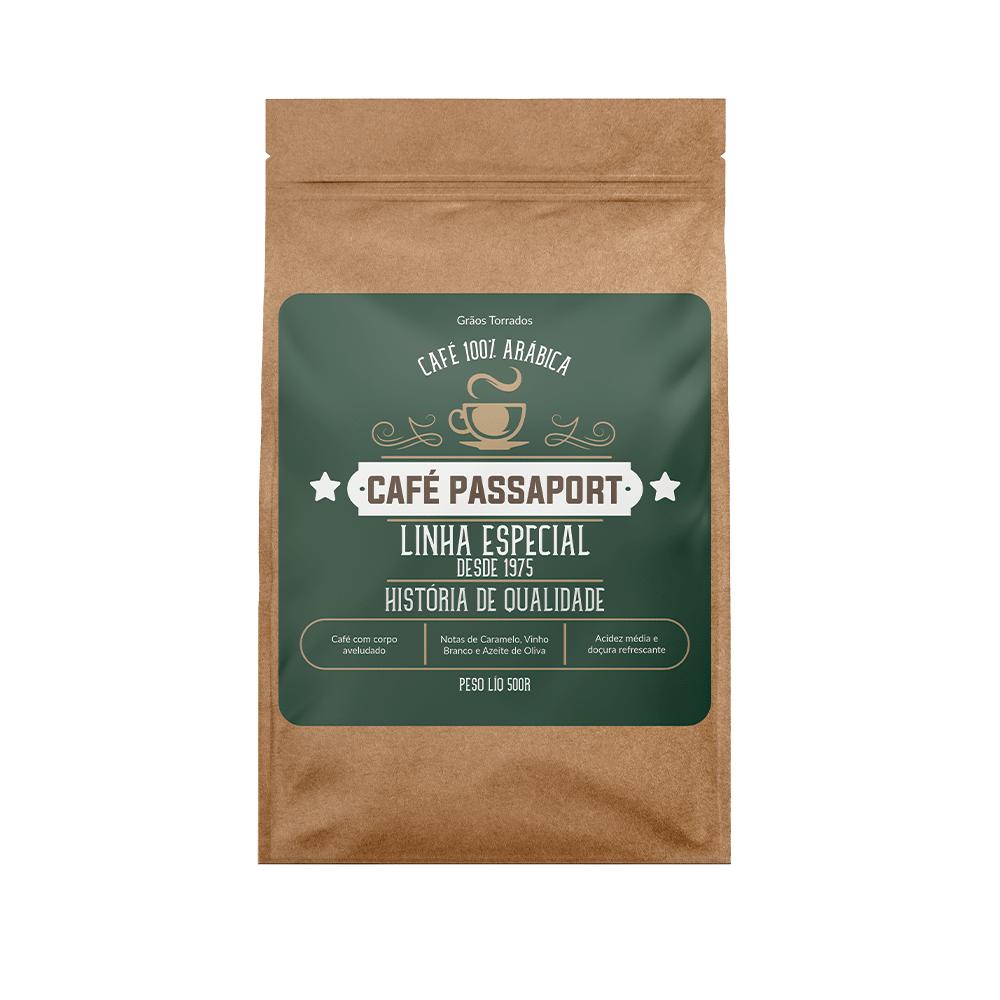 Café Passaport Grãos Torrados Linha Especial 500GR