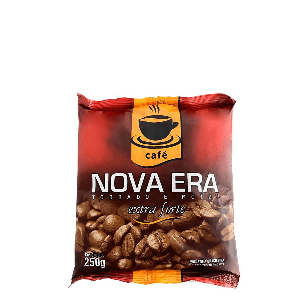 CAFÉ TORRADO E MOÍDO NOVA ERA EXTRA FORTE 250GR