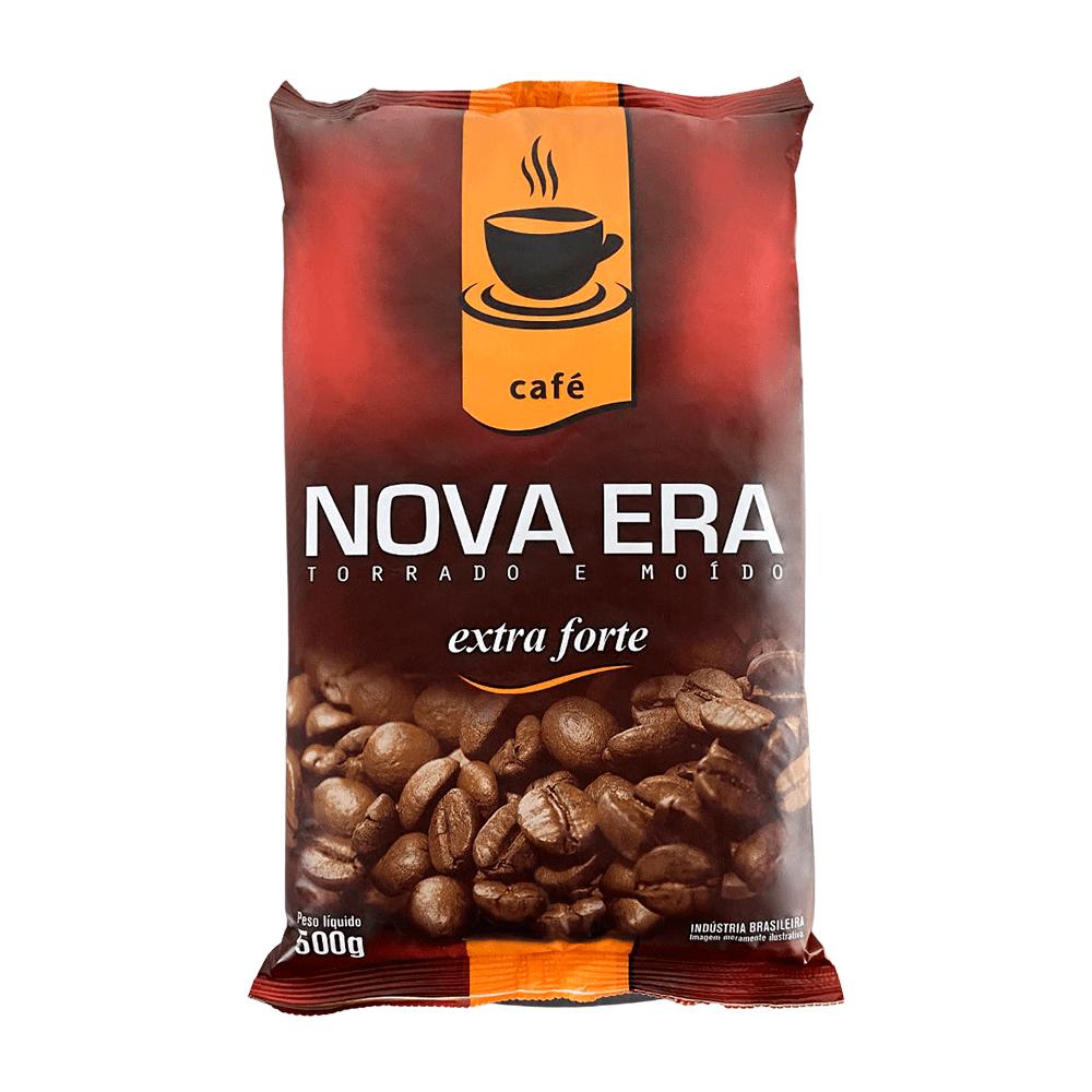 CAFÉ TORRADO E MOÍDO NOVA ERA EXTRA FORTE 500GR