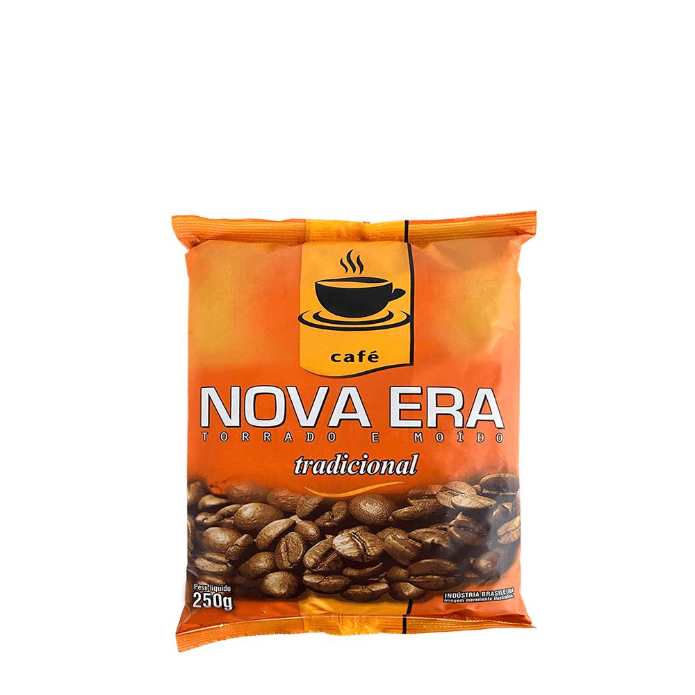 CAFÉ TORRADO E MOÍDO NOVA ERA TRADICIONAL 250GR