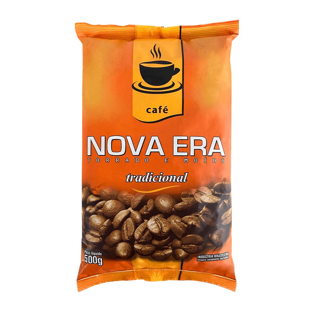 CAFÉ TORRADO E MOÍDO NOVA ERA TRADICIONAL 500GR