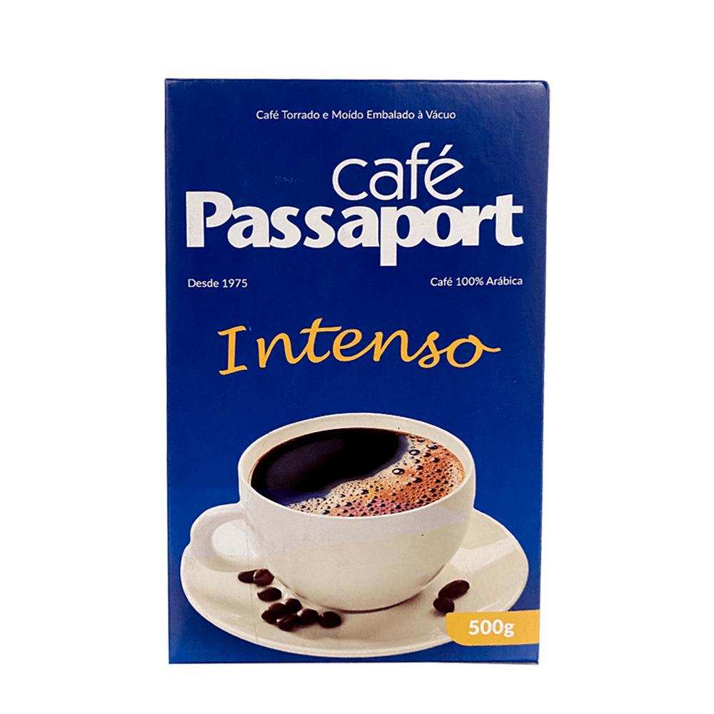 CAFÉ TORRADO E MOÍDO PASSAPORT INTENSO VÁCUO 500GR