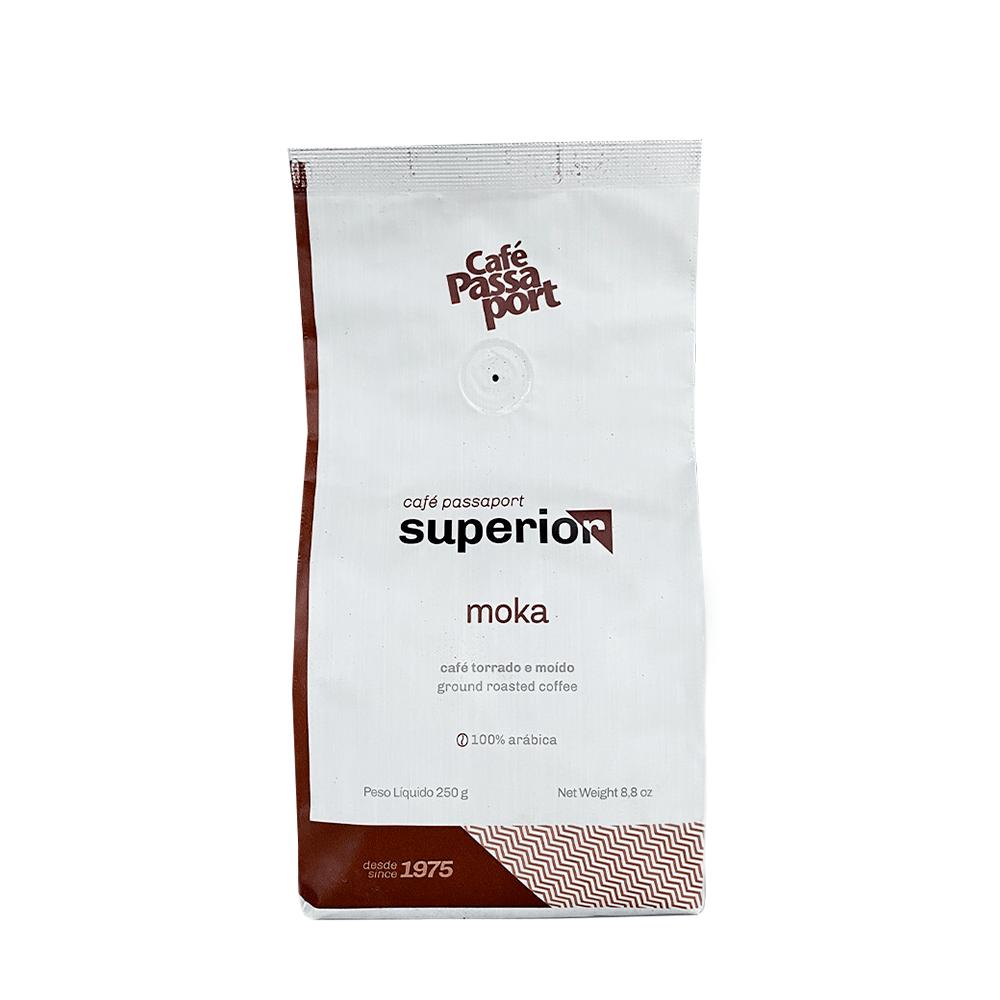 CAFÉ TORRADO E MOÍDO PASSAPORT SUPERIOR MOKA 250GR