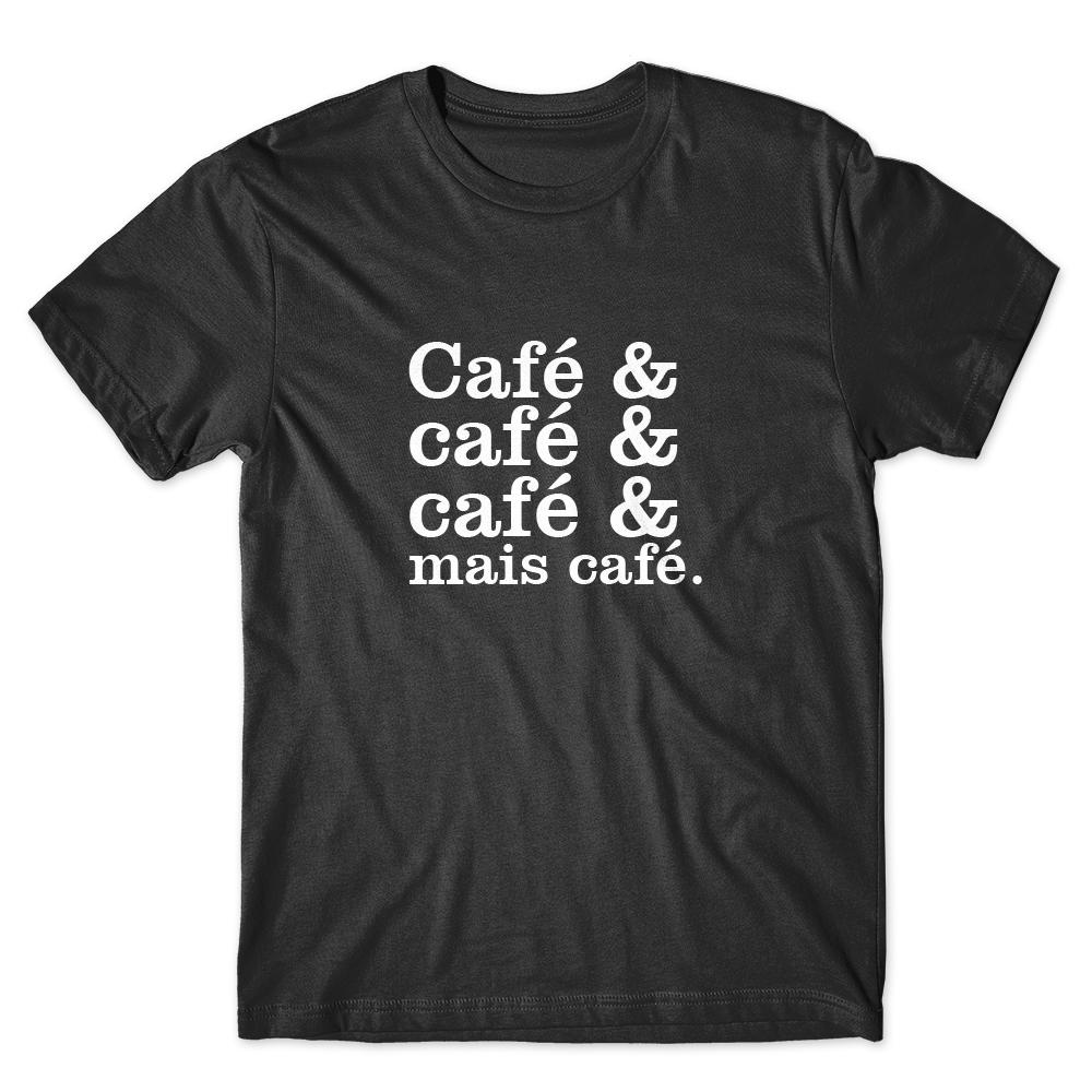 Camiseta Café Passaport Café & Mais Café