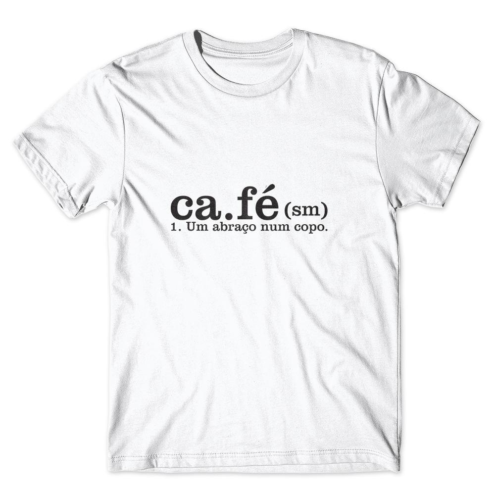 Camiseta Café Passaport Café um abraço no Copo