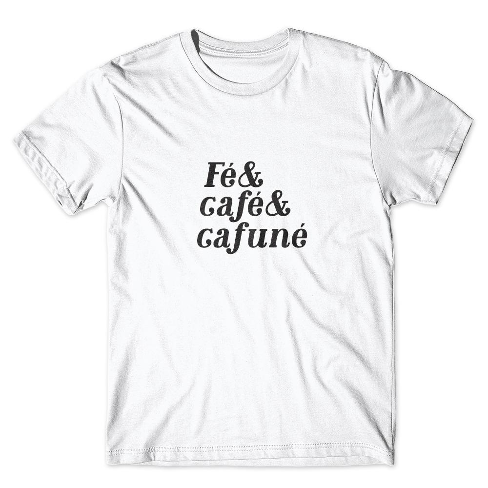 Camiseta Café Passaport Fé Café e Cafuné