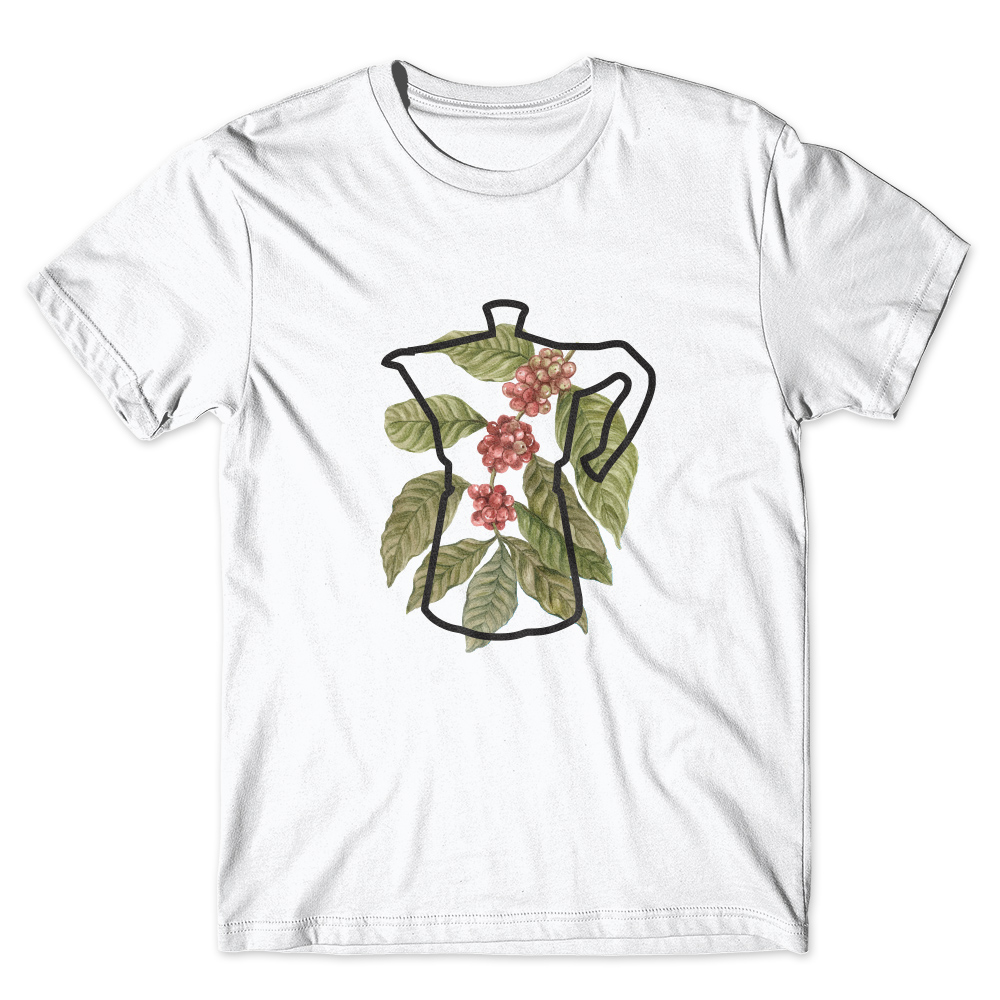 Camiseta Café Passaport Fruta Café Bule