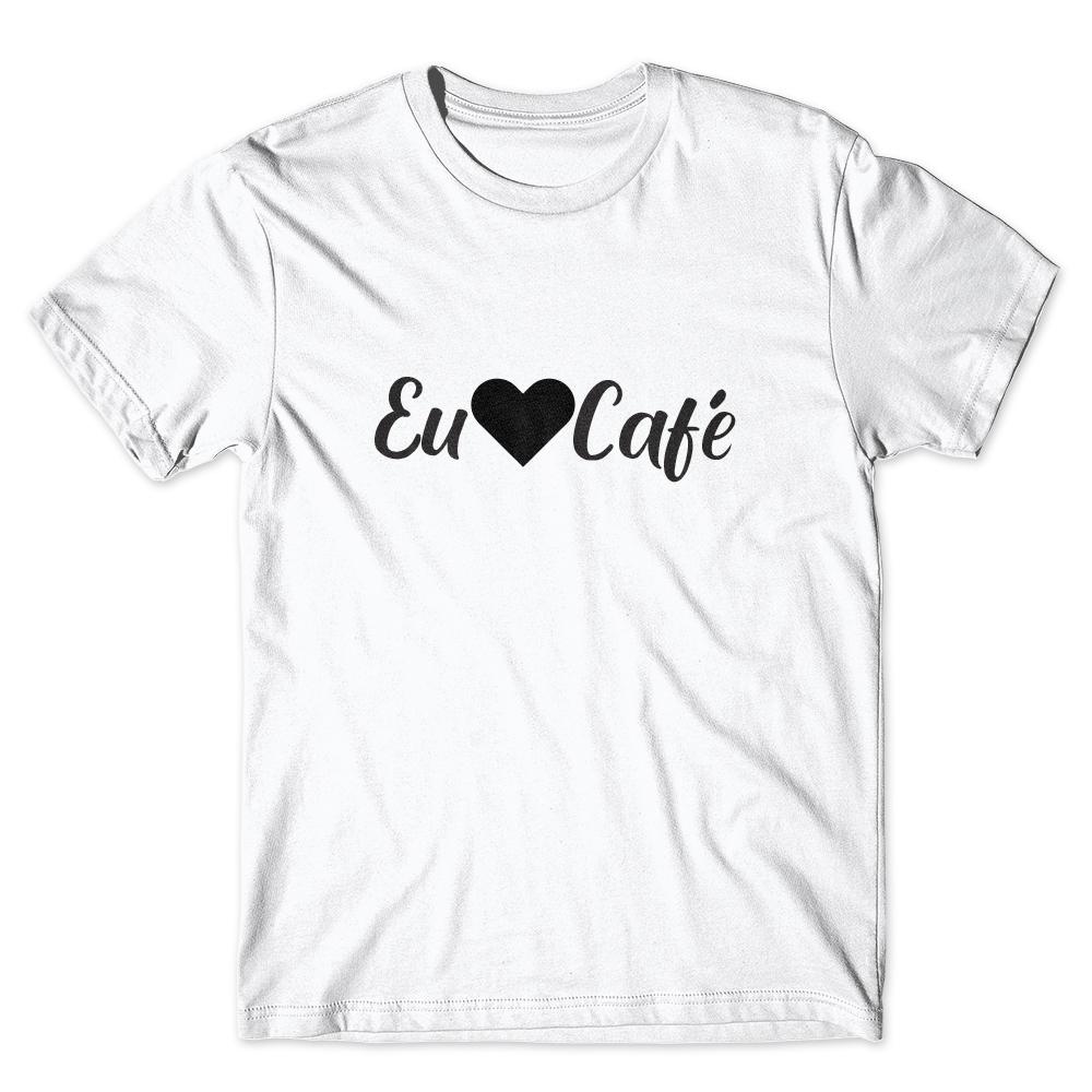 Camiseta Café Passaport Eu Amo Café