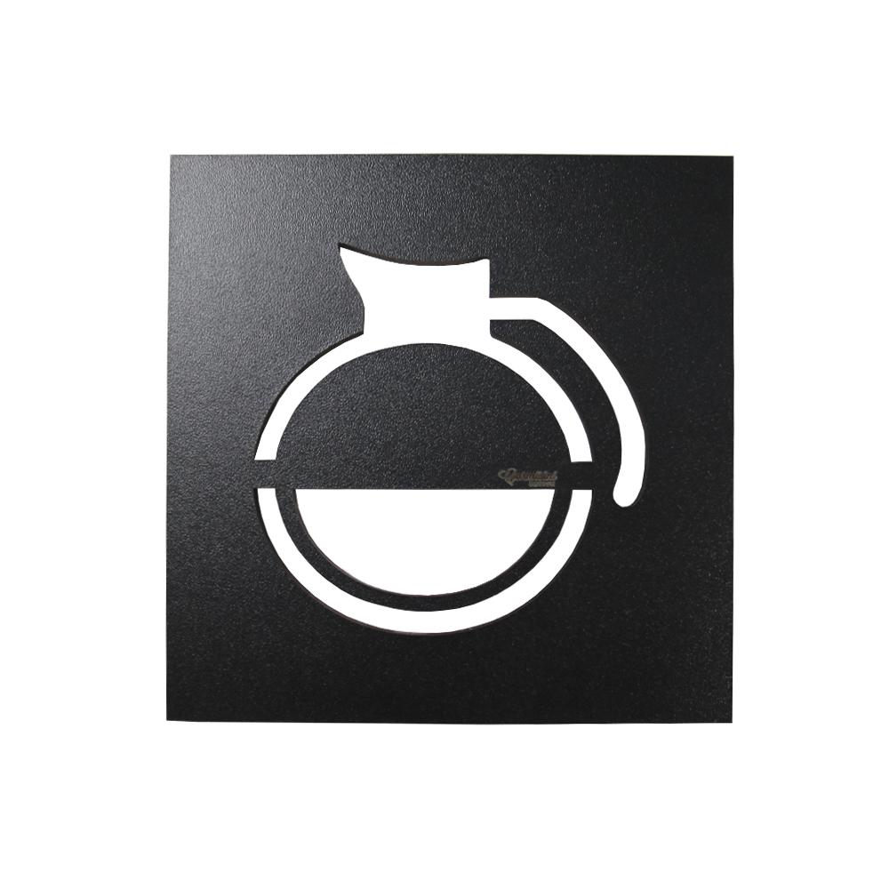 Kit Café Passaport Superior com Garrafa e xícaras e quadros