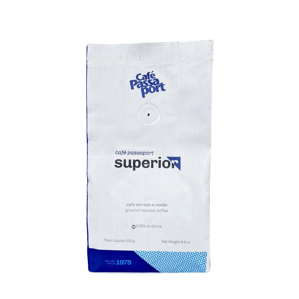 Kit Café Superior com Mini coador artesanal vermelho