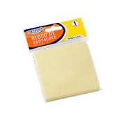 Bloco Adesivo BRW Smart Notes Amarelo Pastel 76x76mm