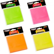 Bloco Adesivo BRW Smart Notes Neon 76x102mm