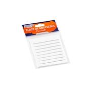 Bloco Adesivo BRW Smart Notes Pautado Branco 76x76mm