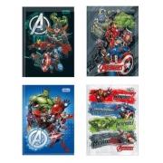 Caderno Brochura 1/4 Avengers Tilibra 80 Folhas