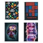 Caderno Espiral Stranger Tilibra Universitário 10 Matérias