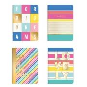 Caderno Grampeado Flexível Be Nice Tilibra 32 Folhas
