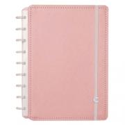 Caderno Inteligente Rose Pastel Médio