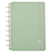 Caderno Inteligente Verde Pastel Médio
