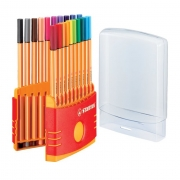 Caneta Stabilo Point 88 Color Parade c/ 20 cores 8820-03