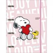 Fichário Argolado Cartonado Snoopy Tilibra