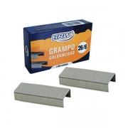 Grampo p/ Grampeador 26/6 BrwGalvanizado c/ 1000un