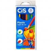 Lápis de Cor Cis Plastic 12 Cores