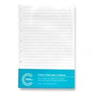 Refil Pautado Caderno Inteligente Médio 90 gr