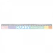 Régua 30cm Happy Tilibra