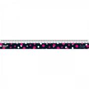 Régua 30cm Love Pink Tilibra