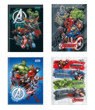 Caderno Brochura Avengers Tilibra 80 Folhas