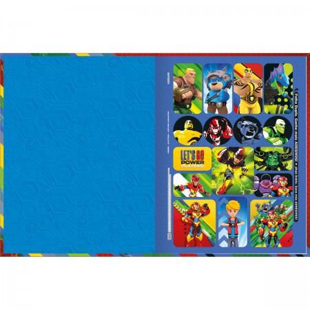Caderno Brochura Power Play Tilibra Universitário 80 Folhas