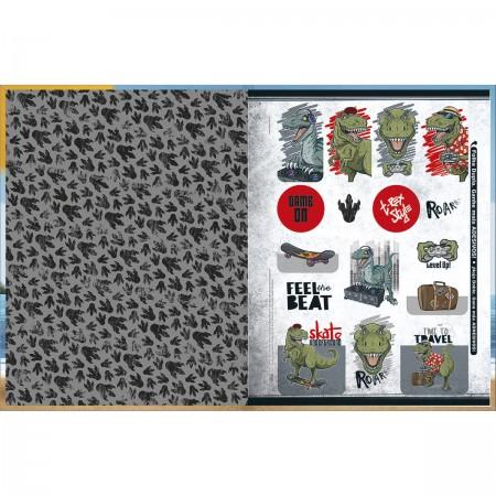 Caderno Brochura Raptor Tilibra Universitário 80 Folhas