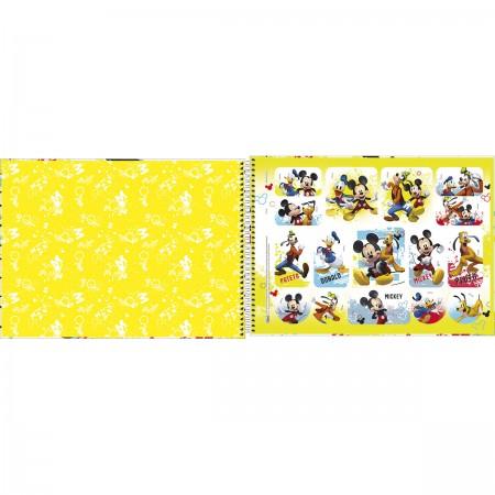 Caderno de Desenho Mickey Tilibra 80 Folhas