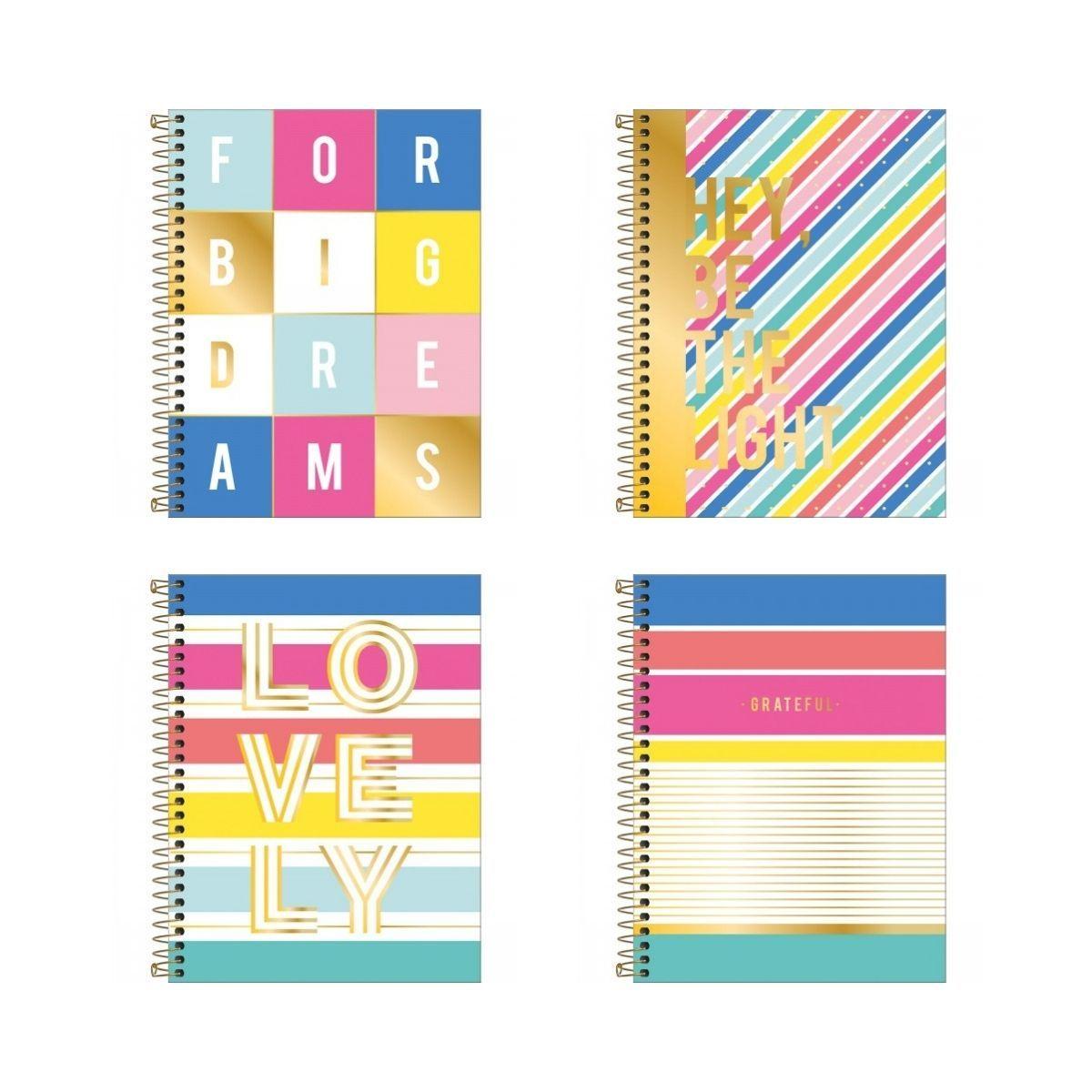 Caderno Espiral Be Nice Tilibra Colegial 10 Matérias