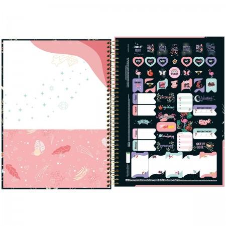 Caderno Espiral Capricho Tilibra Universitário 10 Matérias