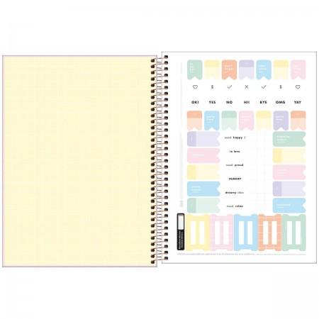 Caderno Espiral Happy Tilibra Universitário 20 Matérias