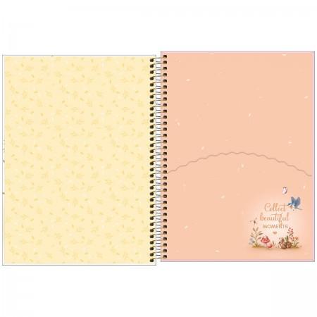 Caderno Espiral Jolie Tilibra Universitário 1 Matéria