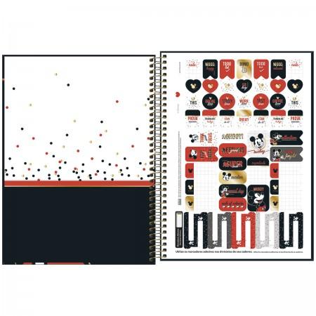 Caderno Espiral Mickey Tilibra Universitário 1 Matéria